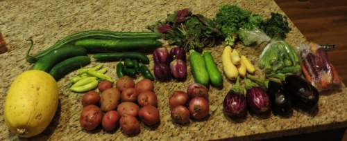 CSA delivery