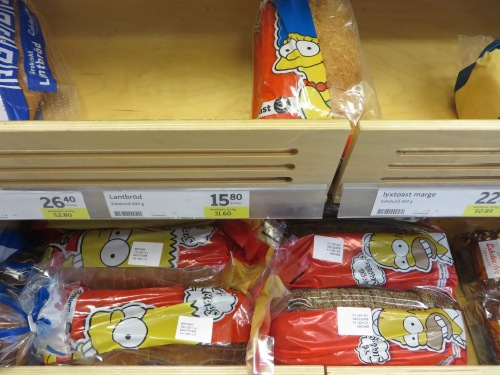Simpsons bread