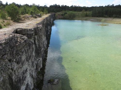 Lake in Gotland